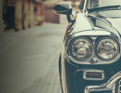 Dawnych aut czar