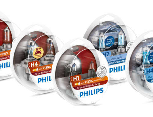 Większe bezpieczeństwo z nowymi halogenami marki Philips