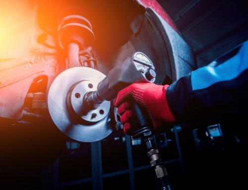 Narzędzia pneumatyczne w warsztacie samochodowym